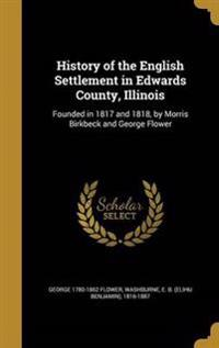 HIST OF THE ENGLISH SETTLEMENT