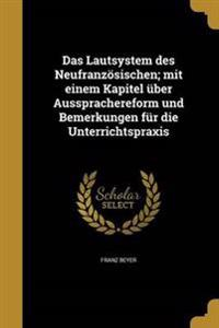 GER-LAUTSYSTEM DES NEUFRANZOSI