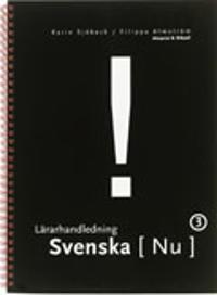 Svenska Nu 3 Lärarhandledning