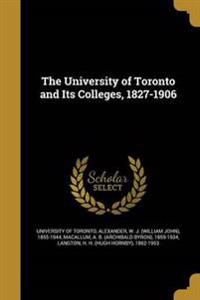 UNIV OF TORONTO & ITS COLLEGES
