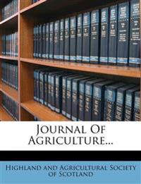 Journal Of Agriculture...