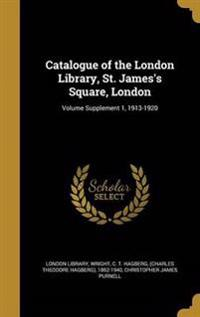 CATALOGUE OF THE LONDON LIB ST