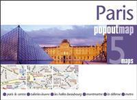 Compass Maps Pop Out Map Paris