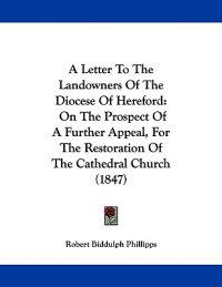 A Letter to the Landowners of the Diocese of Hereford