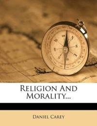 Religion And Morality...