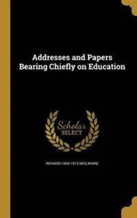 ADDRESSES & PAPERS BEARING CHI