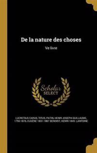 LAT-DE LA NATURE DES CHOSES