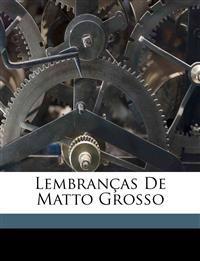 Lembranças de Matto Grosso