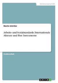 Arbeits- und Sozialstandards. Internationale Akteure und Ihre Instrumente