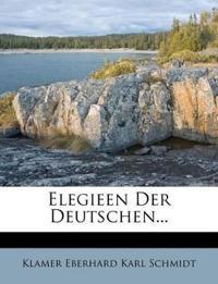 Elegieen Der Deutschen...