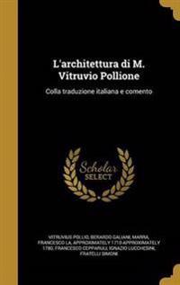 ITA-LARCHITETTURA DI M VITRUVI