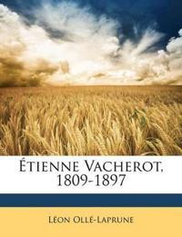 Étienne Vacherot, 1809-1897