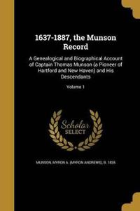 1637-1887 THE MUNSON RECORD