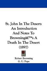 St. John in the Desert