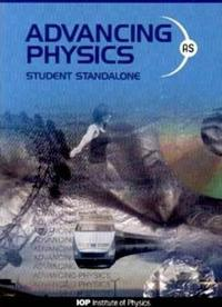 Advancing Physics: AS Student Standalone CD-ROM
