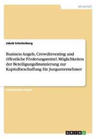 Business Angels, Crowdinvesting und öffentliche Förderungsmittel. Möglichkeiten der Beteiligungsfinanzierung zur Kapitalbeschaffung für Jungunternehmer