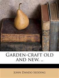 Garden-craft old and new. ..