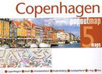 Popout Map Copenhagen