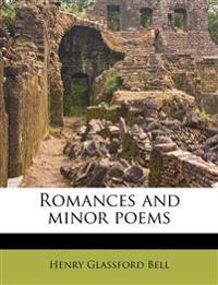 Romances and minor poems