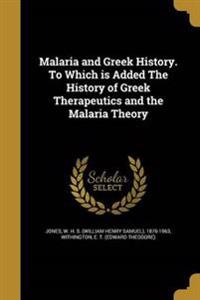 MALARIA & GREEK HIST TO WHICH