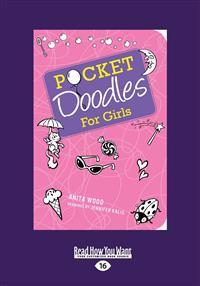 Pocketdoodles for Girls (Large Print 16pt)