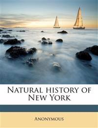 Natural history of New York Volume 3-4, pt.1