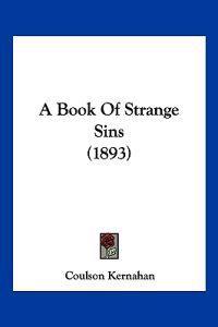 A Book of Strange Sins
