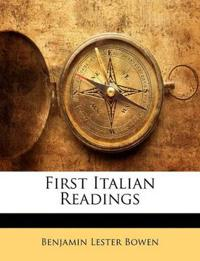 First Italian Readings