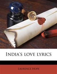 India's love lyrics