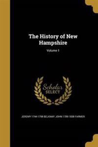 HIST OF NEW HAMPSHIRE V01