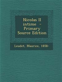 Nicolas II intime