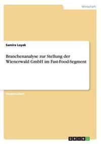 Branchenanalyse zur Stellung der Wienerwald GmbH im Fast-Food-Segment