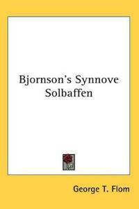 Bjornson's Synnove Solbaffen