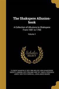 SHAKSPERE ALLUSION-BK