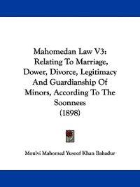 Mahomedan Law