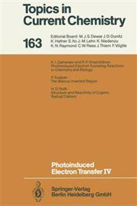 Photoinduced Electron Transfer IV