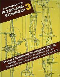 Flygplansritningar. 3 : Svenska Flygvapnets Bomb-, Attack- och Torpedflygpl