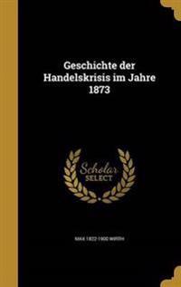 GER-GESCHICHTE DER HANDELSKRIS