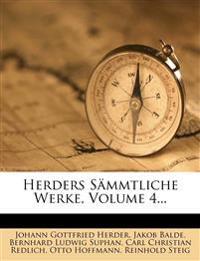 Herders Sämmtliche Werke, Volume 4...