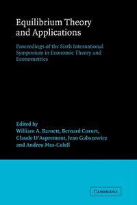 International Symposia in Economic Theory and Econometrics