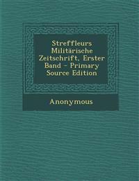 Streffleurs Militärische Zeitschrift, Erster Band