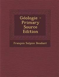 Geologie - Primary Source Edition
