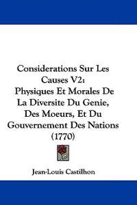 Considerations Sur Les Causes