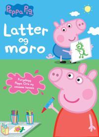 Peppa Pig. Latter og moro. Fargeleggingsbok