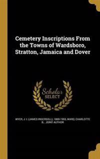 CEMETERY INSCRIPTIONS FROM THE