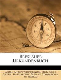 Breslauer Urkundenbuch