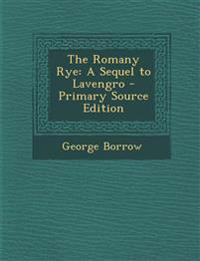 The Romany Rye: A Sequel to Lavengro