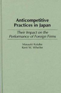 Anticompetitive Practices in Japan