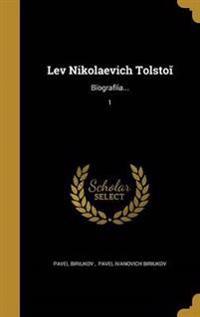 RUS-LEV NIKOLAEVICH TOLSTO