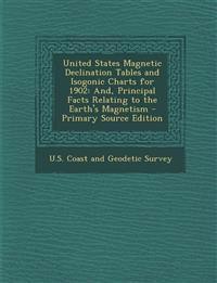 United States Magnetic Declination Tables and Isogonic Charts for 1902: And, Principal Facts Relating to the Earth's Magnetism